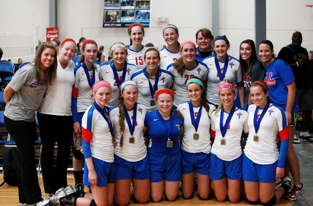 Varsity Volleyball Takes Home Hardware in Pre-Season Play