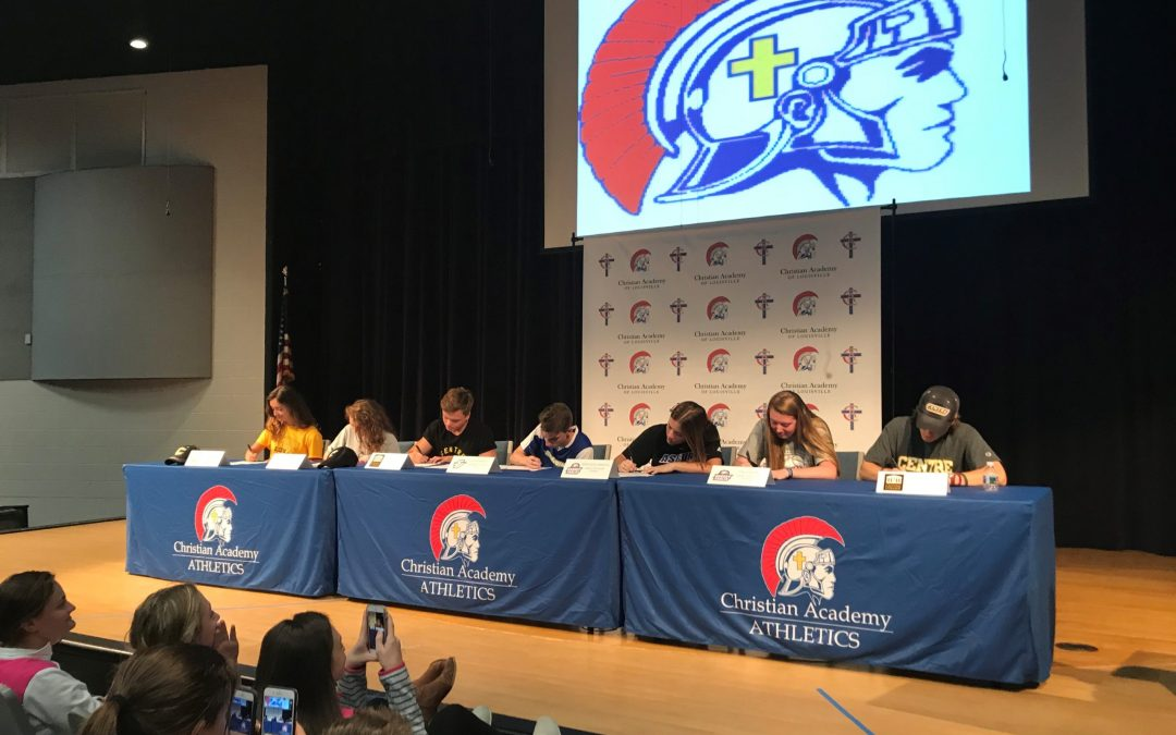 CAL Student Athletes Sign to Play at College Level