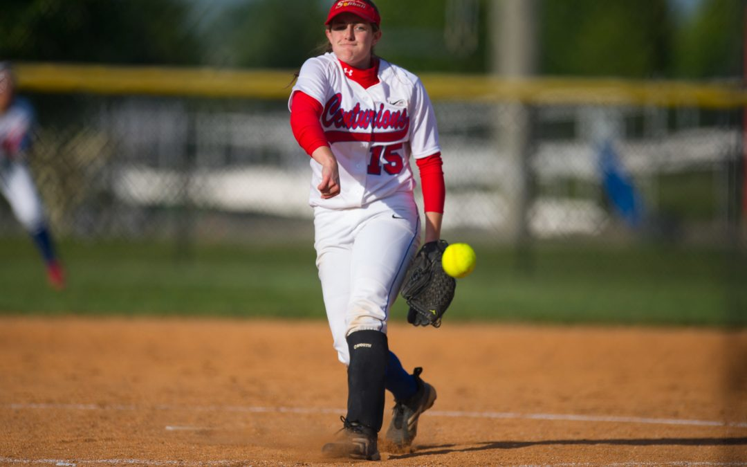 Allison Foster Ties State Softball Record for Triples