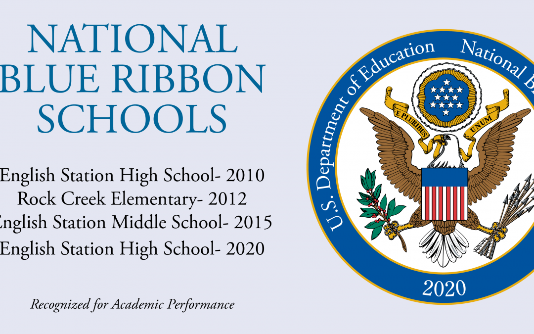 Christian Academy has been nationally recognized as a Blue Ribbon School