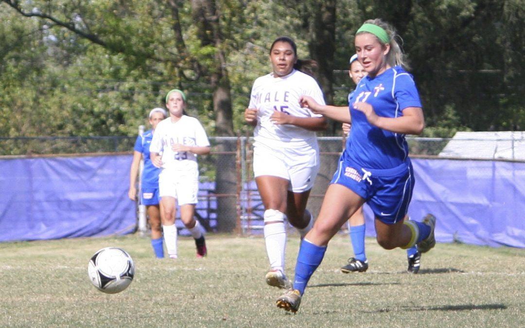 Girls Varsity Soccer Wins Male Bulldog Cup