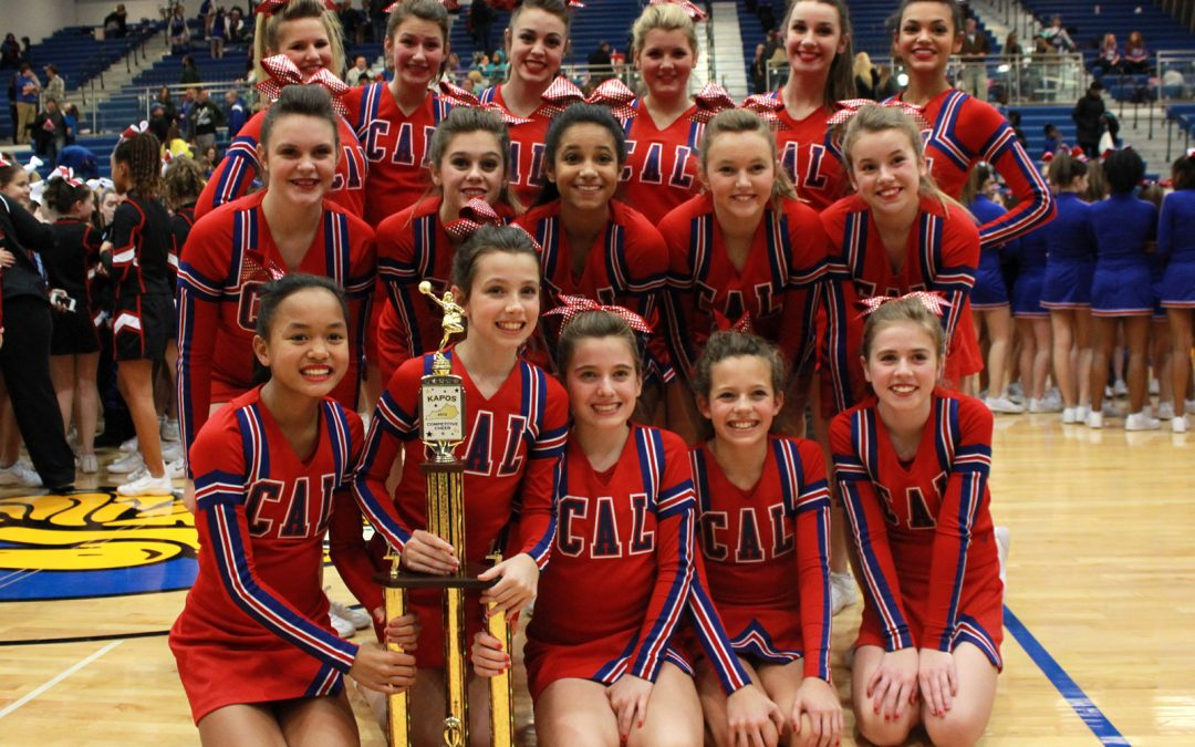 MS Cheerleaders are Region Champs!