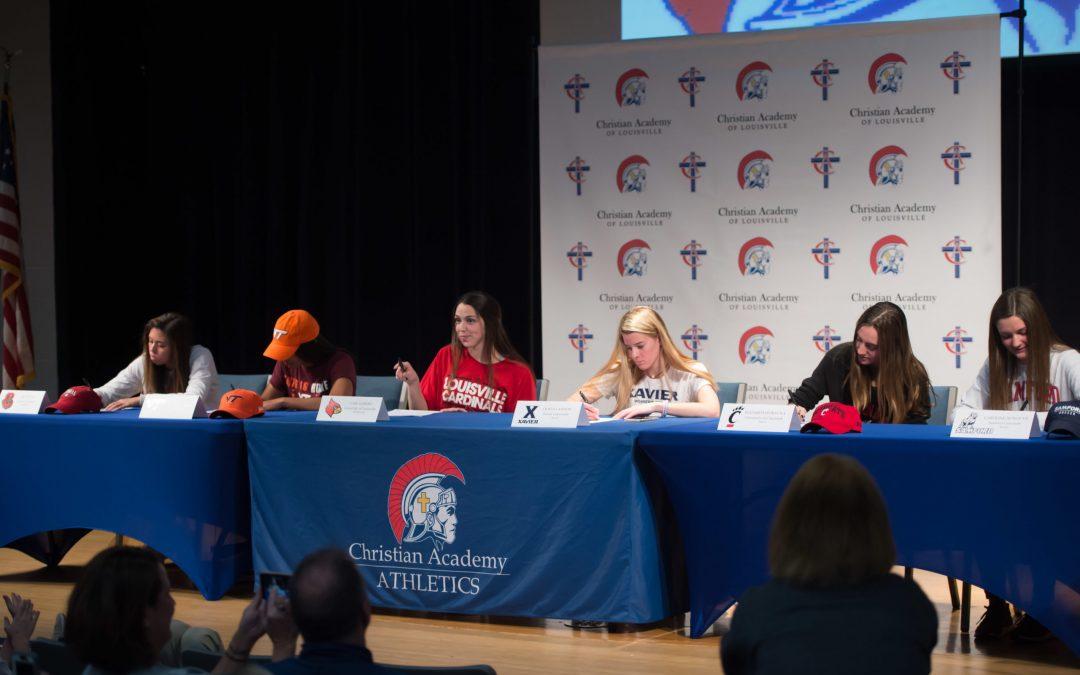 Six CAL Female Athletes Sign Division I