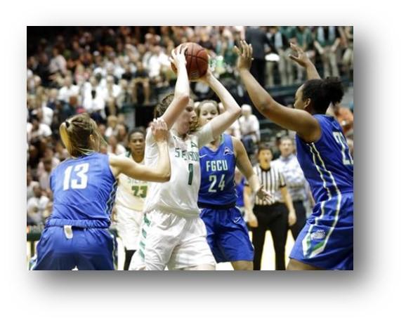 Lady Centurion Alumni China Dow Headed to NCAA Tournament