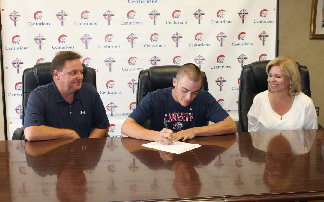 Jonathan Embry Signs with Liberty University