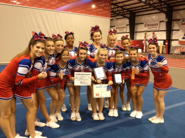 CAL Cheerleaders Named FCC Camp Champs