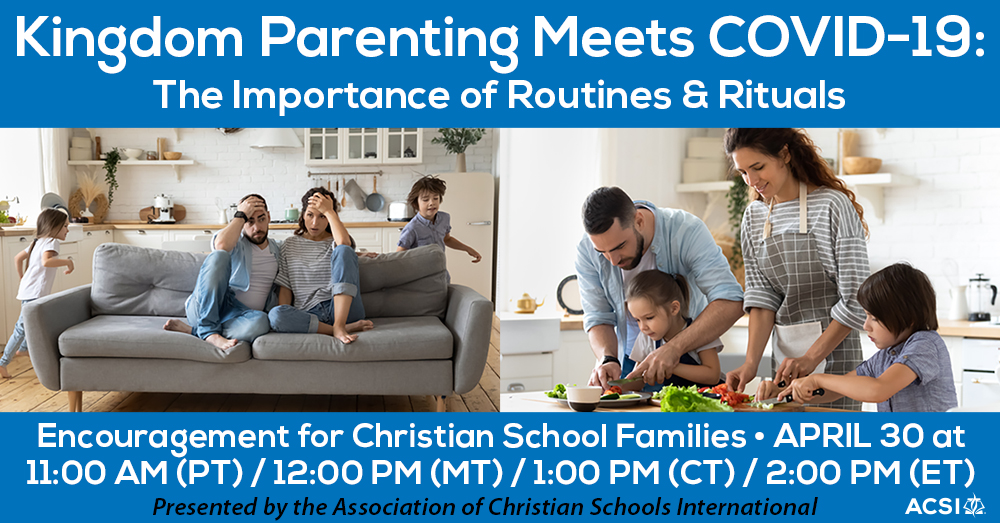 Join Us for a Kingdom Parenting Meets COVID-19 Live Event Watch Party, April 30