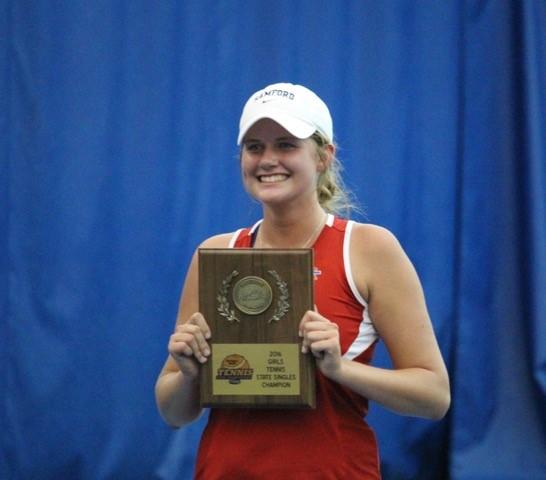 Grace Jennings Wins 2nd State Tennis Title!