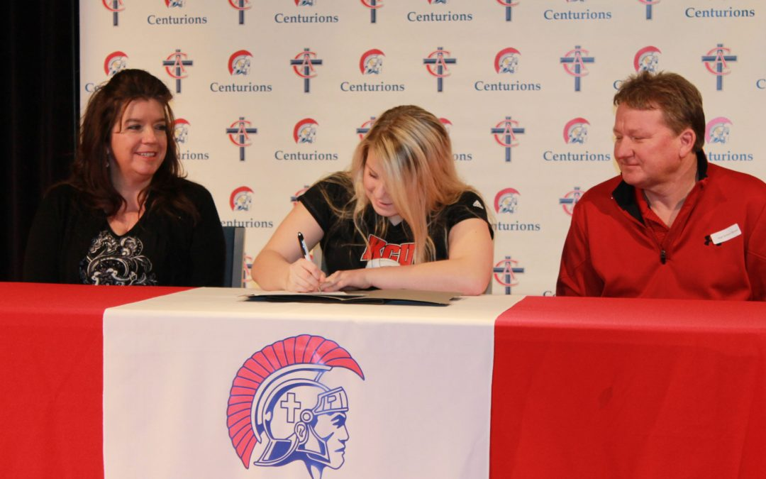 Juliann Parrish Signs to Play Volleyball at KCU