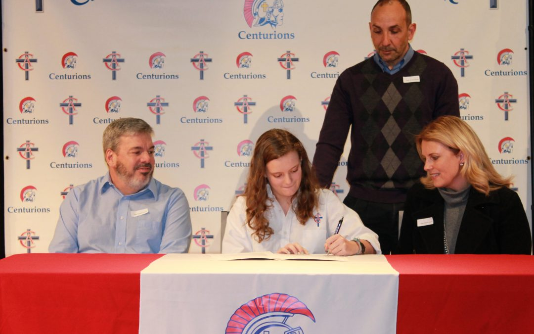 Sarah Rhodes Signs to Play Lacrosse at Asbury University