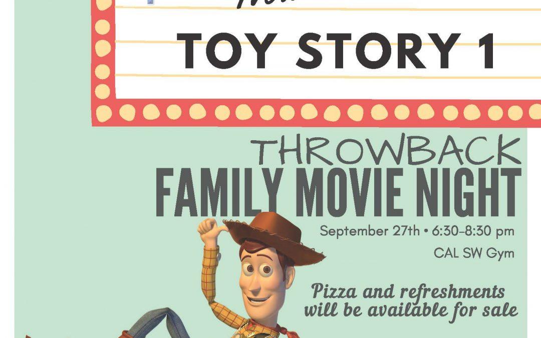 Southwest Family Movie Night, September 27