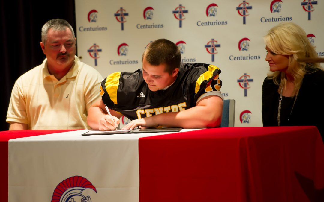 Hunter Trenaman Signs to Play Football at Centre College