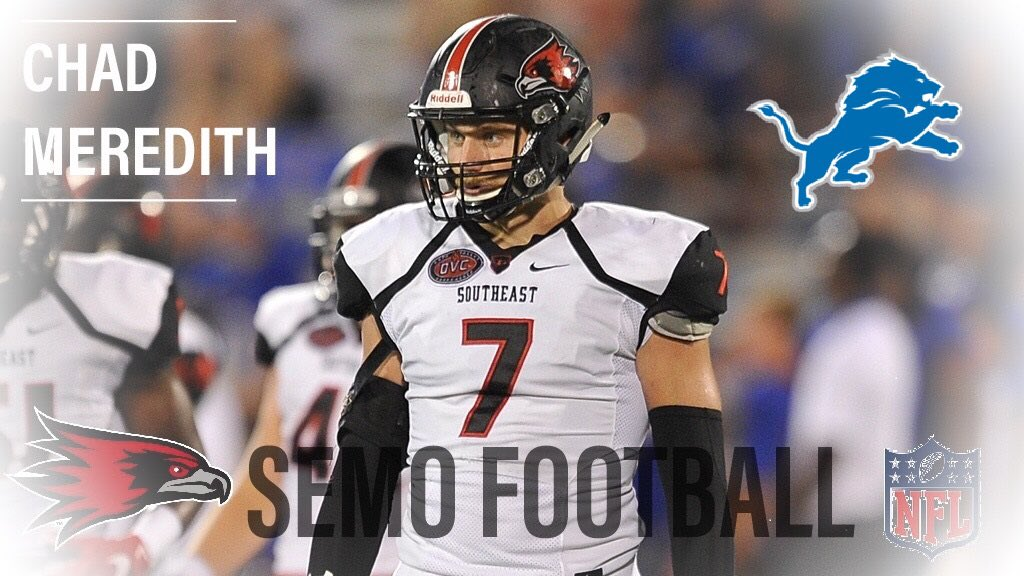 CAL Alum Chad Meredith Signs with Detroit Lions!