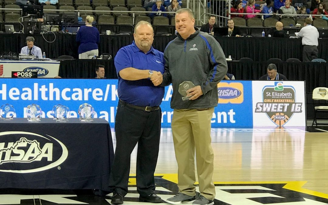 Perry White Named Girls Basketball 7th Region Coach of the Year