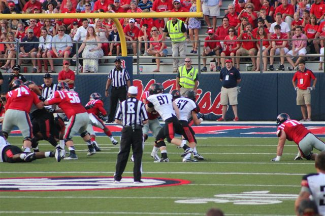 Former CAL Captains Chad Meredith and John Popovich Play at Vaught Hemingway Stadium