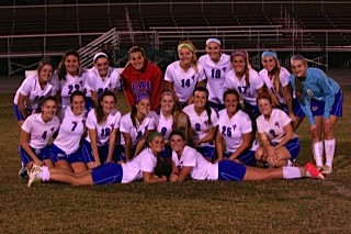 Girls' Soccer Wins 4th Consecutive District Championship!