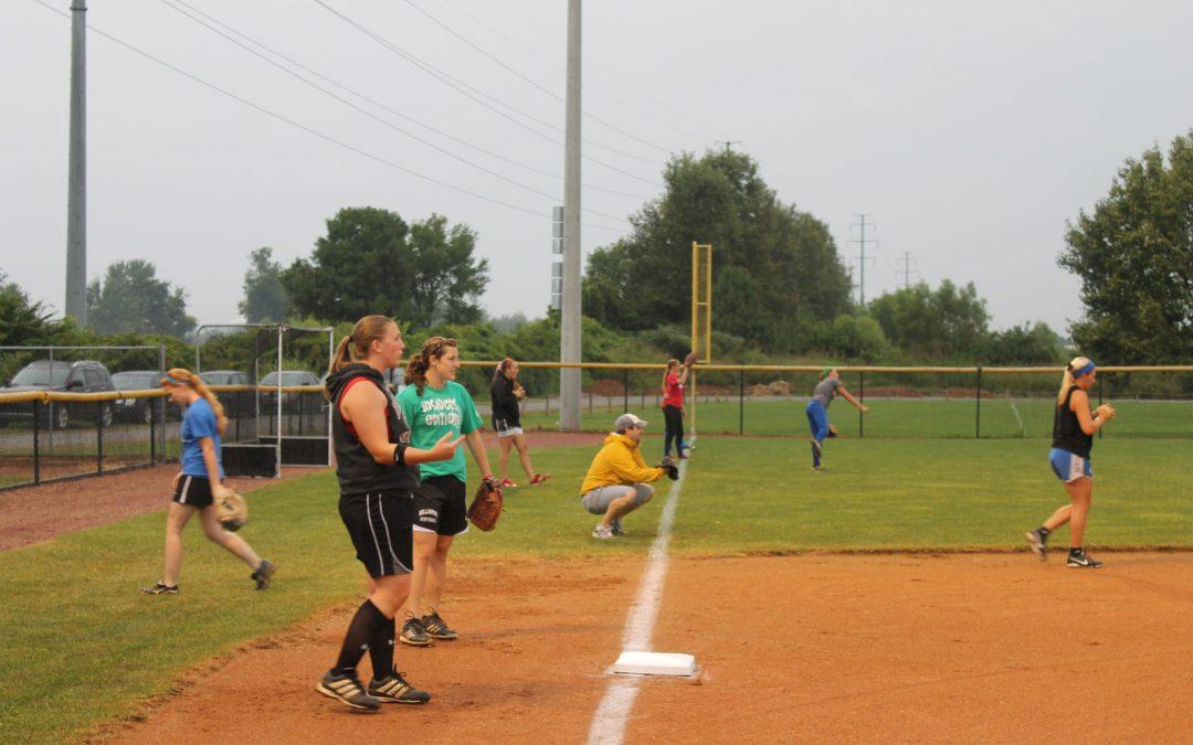 CAL Celebrates New Softball Lights