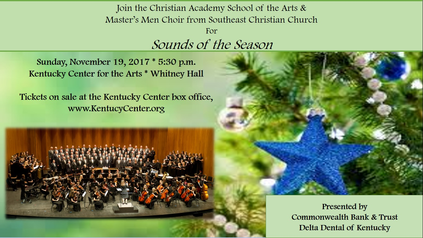 Christian Academy School System | School of the Arts | Sounds of the Season | November 19, 2017