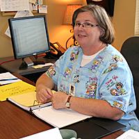 Nurse Linda Driver Utilizes Technology in Unique Ways