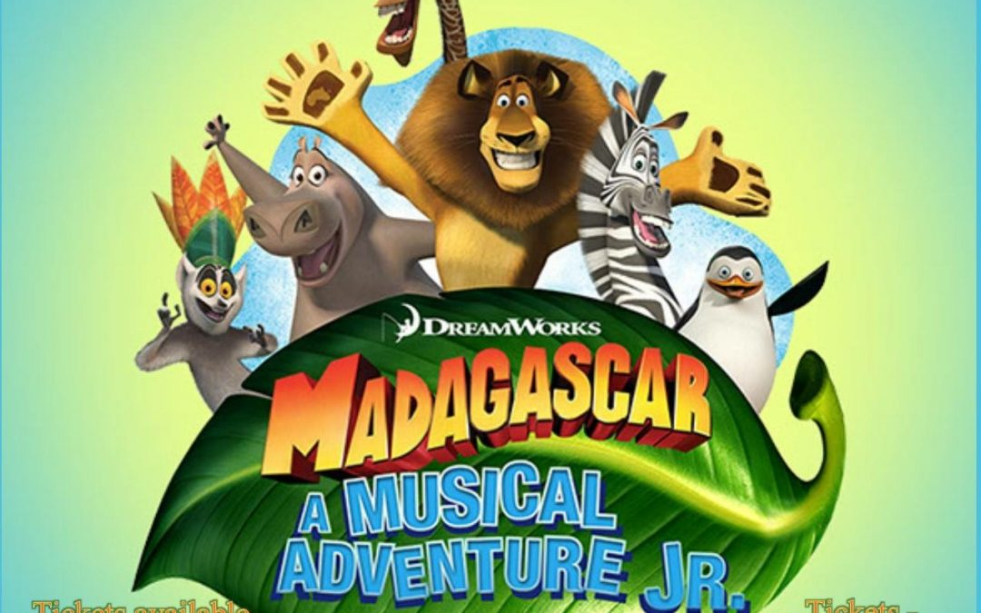 Tickets Now on Sale for CAI Middle School's Production of Madagascar: A Musical Adventure Jr., September 13-15
