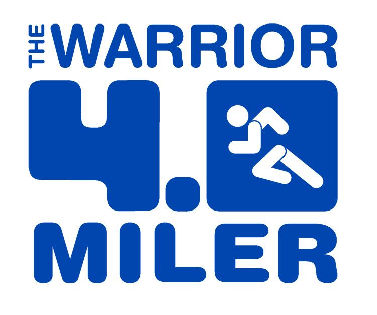 Register Now for the Warrior 4-Miler, August 5