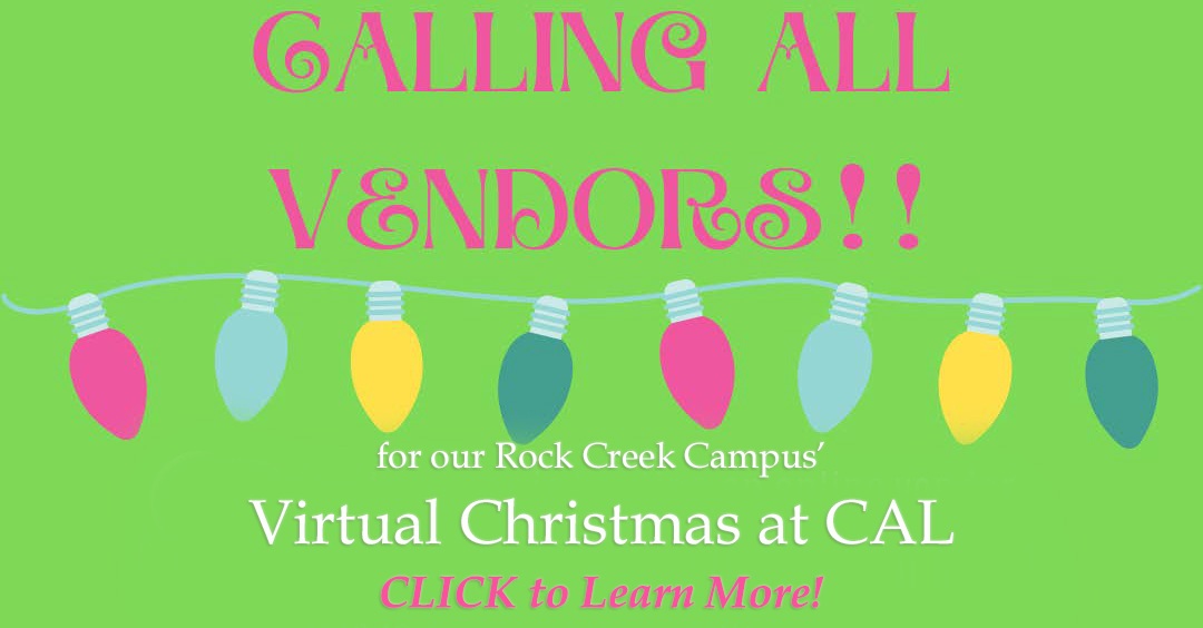 Christian Academy School System | Christian Academy of Louisville | Rock Creek Campus | Christmas at CAL - November 7 | Calling All Vendors!