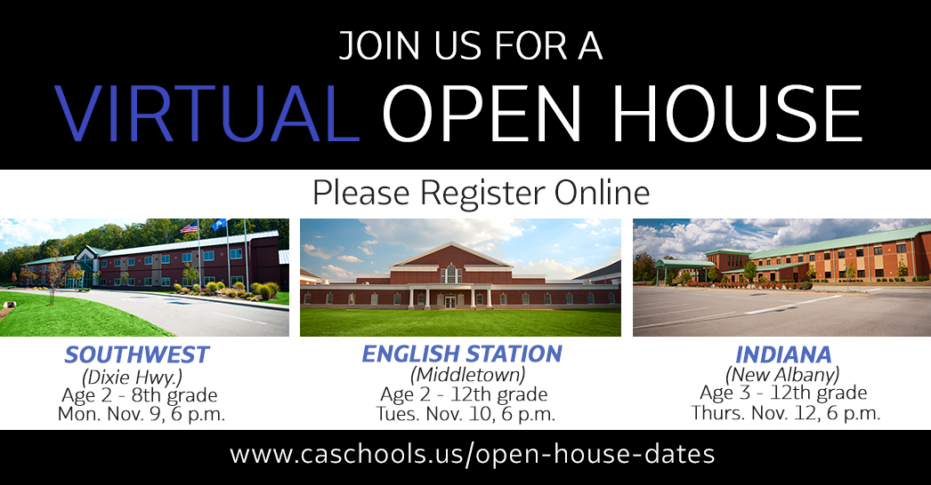 Christian Academy School System | Fall 2020 Virtual Open Houses