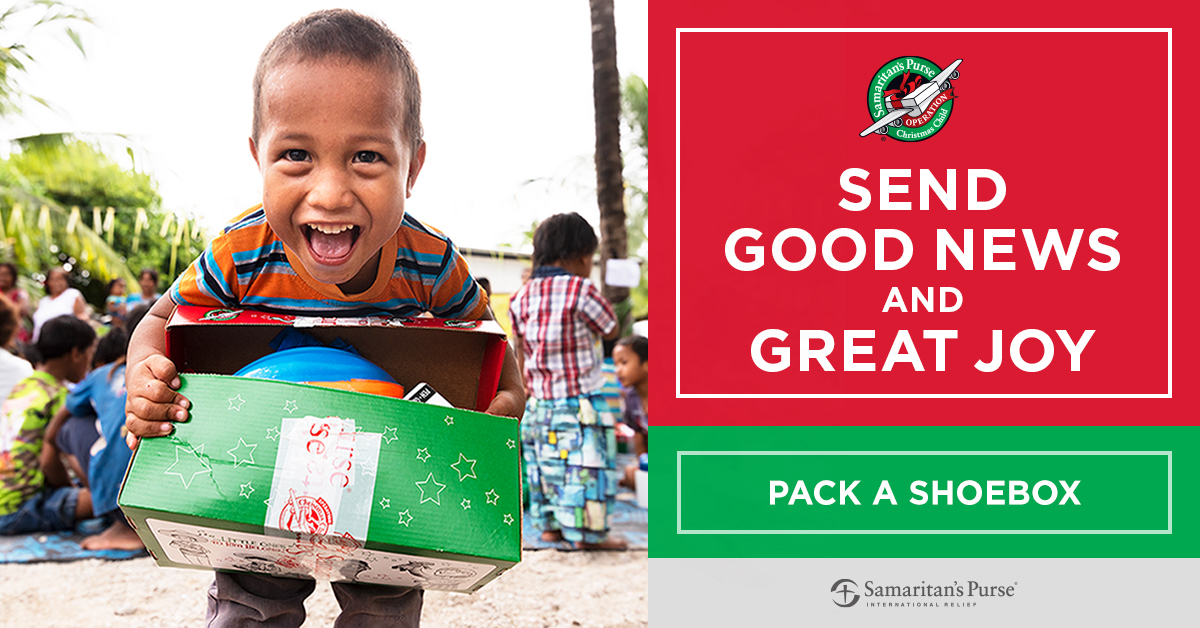 Christian Academy School System | Christian Academy of Louisville | Southwest Campus | Operation Christmas Child