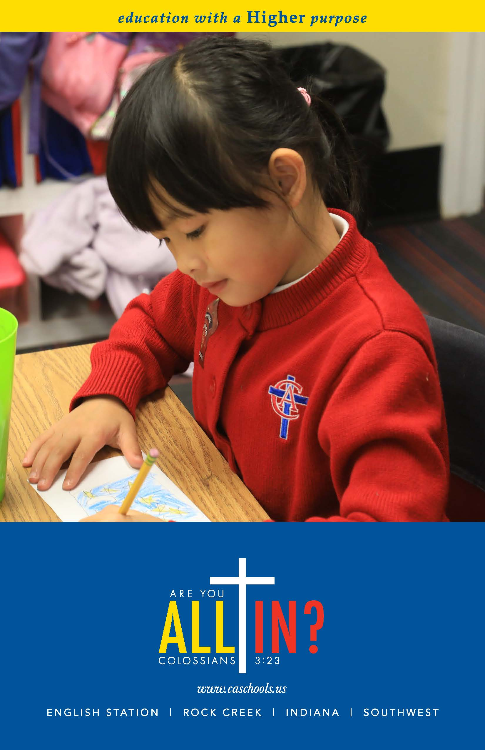 Christian Academy School System | Annual Fund | 2020-2021 ALL IN! Brochure