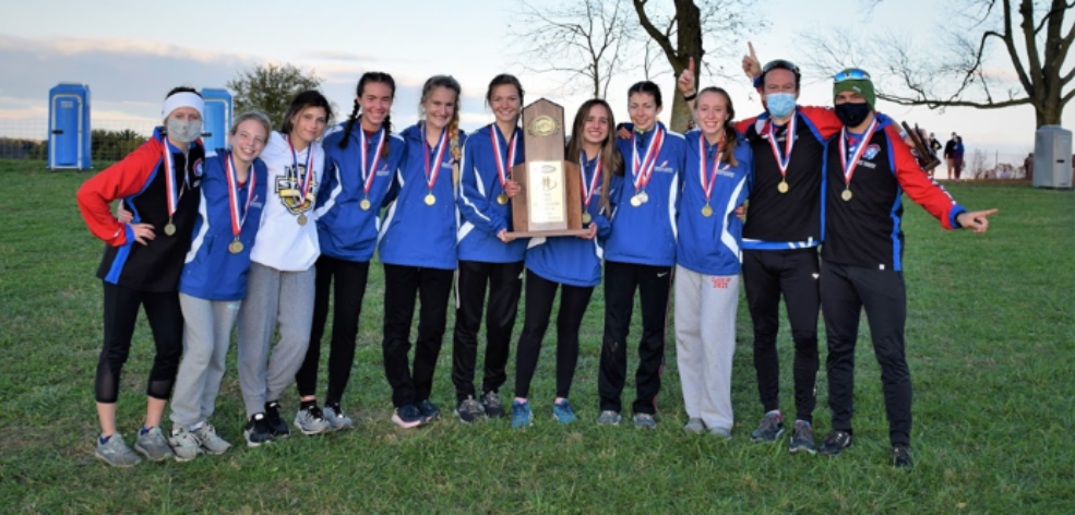 Girls Cross Country Team are STATE CHAMPIONS!