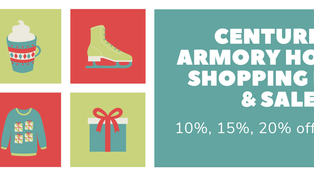 Centurion Armory Open for Holiday Shopping and Sales!