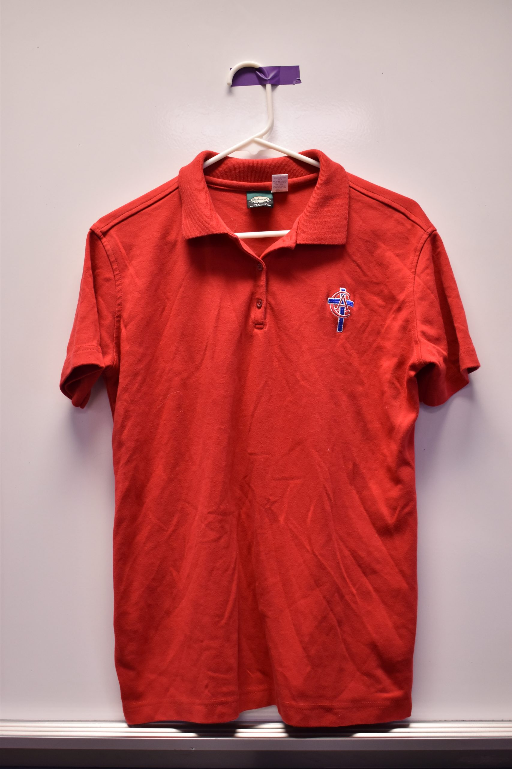 Christian Academy School System | Christian Academy of Louisville | Virtual Uniform Closet | Uniform Polo | Red Short Sleeve | New Logo