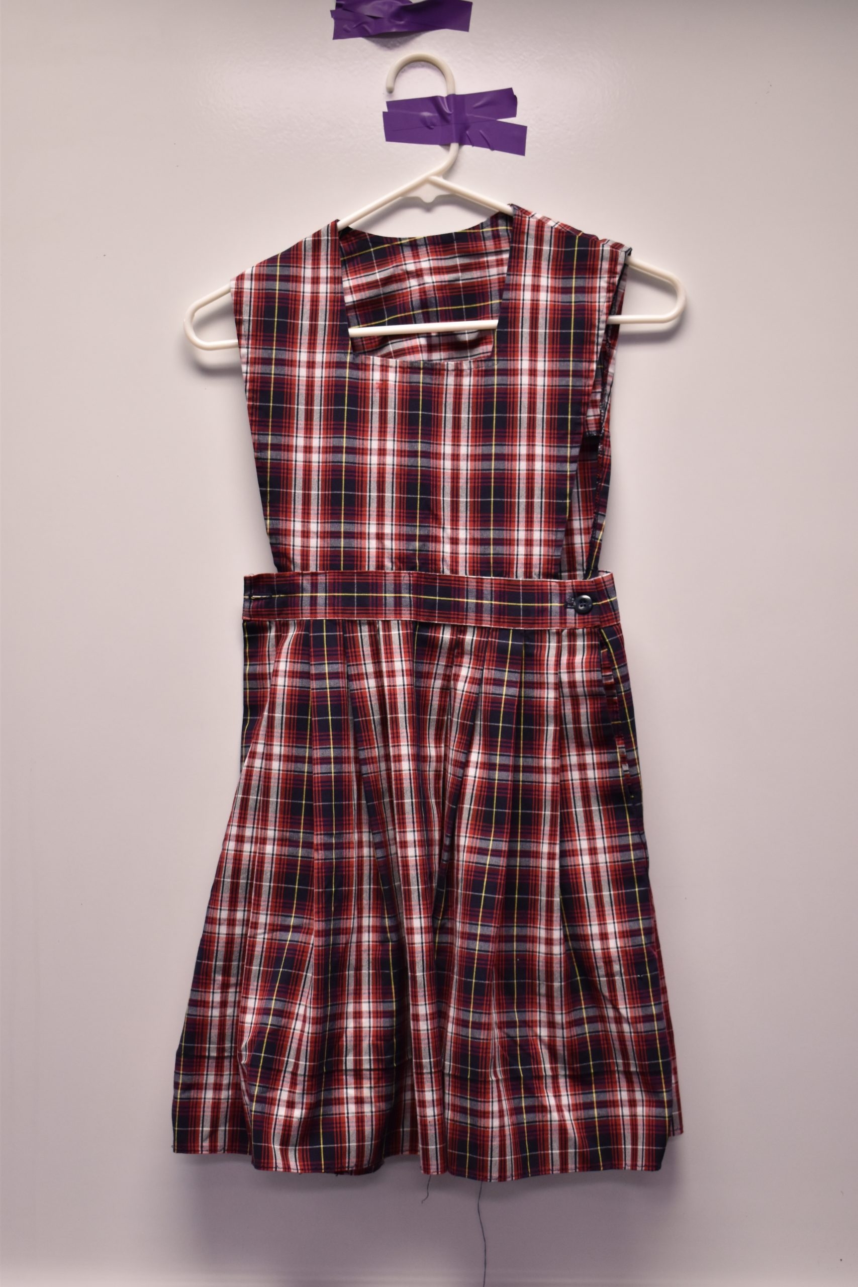 Christian Academy School System | Christian Academy of Louisville | Virtual Uniform Closet | Uniform | Elementary Girls Plaid Chapel Jumper
