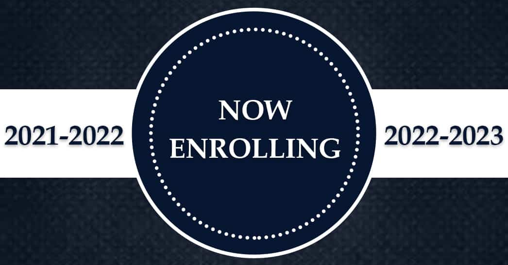 Christian Academy School System | Admissions | Now Enrolling | 2021-2022 and 2022-2023