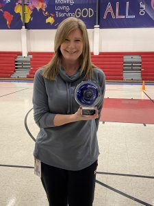 Christian Academy School System | Christian Academy of Louisville | Southwest Campus | ALL IN! Outstanding Teacher | Kathy Coble