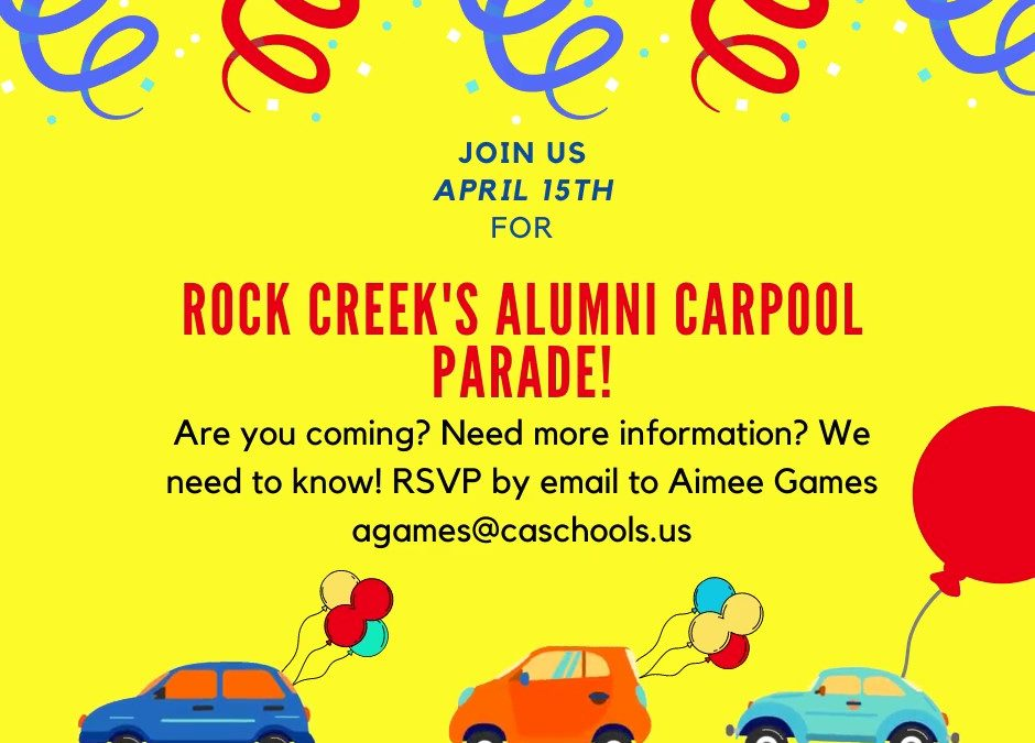Christian Academy School System | Christian Academy of Louisville | Rock Creek Campus | Alumni Carpool Parade | April 15