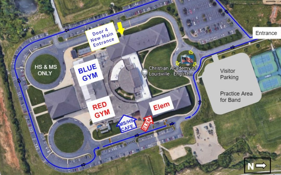 Relocation of the Temporary Main Entrance for the Summer Beginning Tuesday, June 1