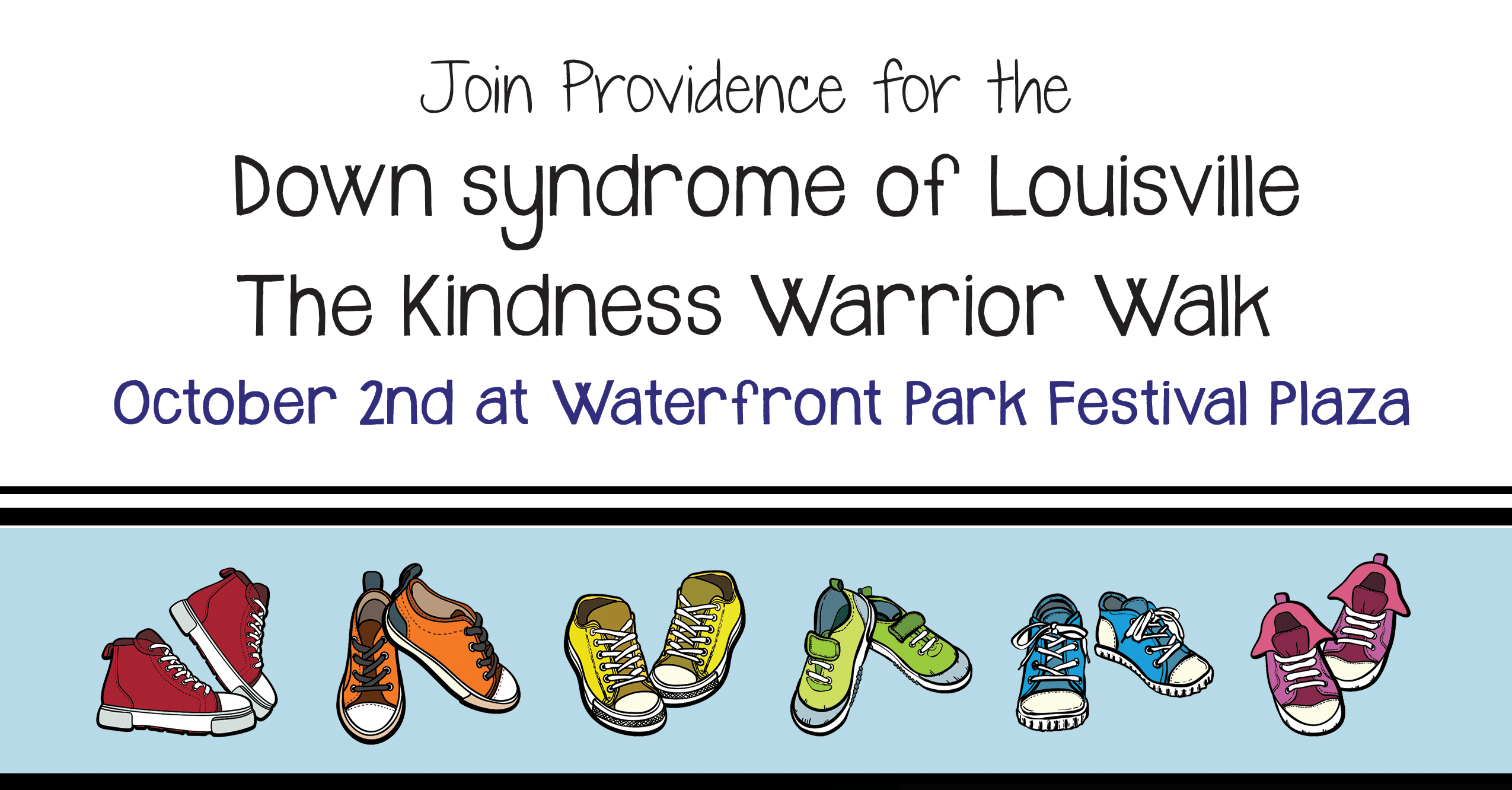 Christian Academy School System | Providence School | Down Syndrome of Louisville | The Kindness Warrior Walk | October 2