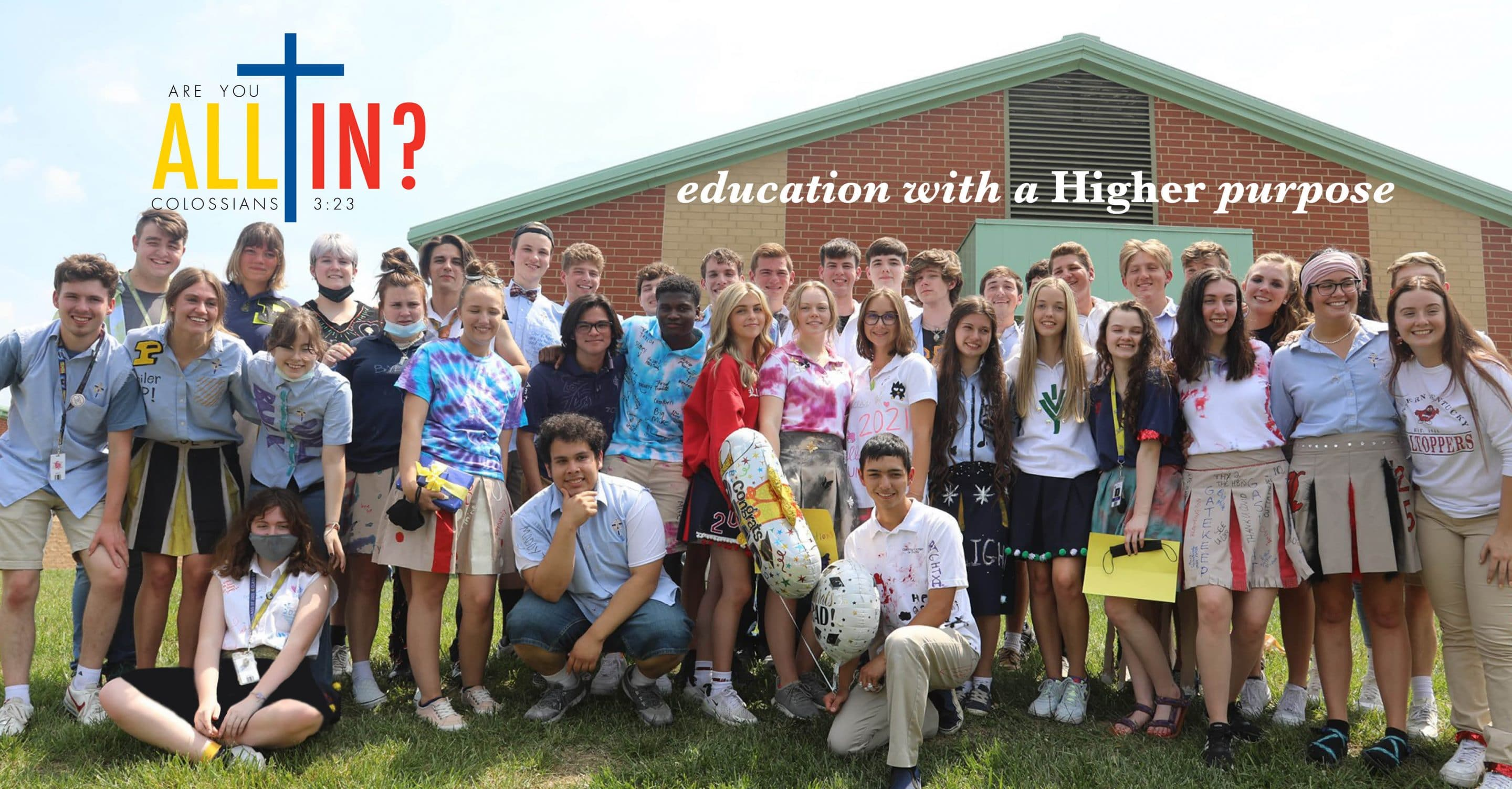 Christian Academy School System | Support | Annual Fund | ALL IN!