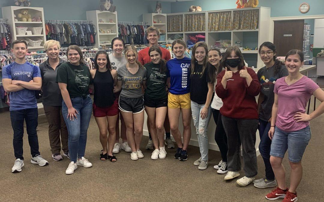 Christian Academy School System | Christian Academy of Indiana | National Honor Society | Service Work
