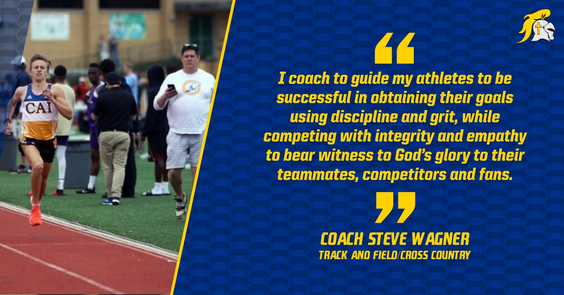 Christian Academy School System | Christian Academy of Indiana | Track & Field and Cross Country | Coach Wagner's Transformational Purpose